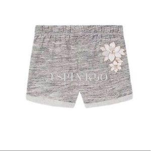 Victoria's Secret Pink Bling BF Shorts Flower XS